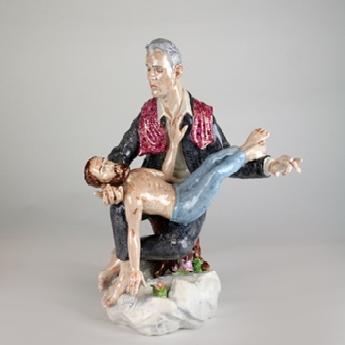 Att söka efter något annat. Figuriner av Alexander Tallén