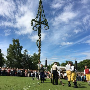 Midsummer at Skansen