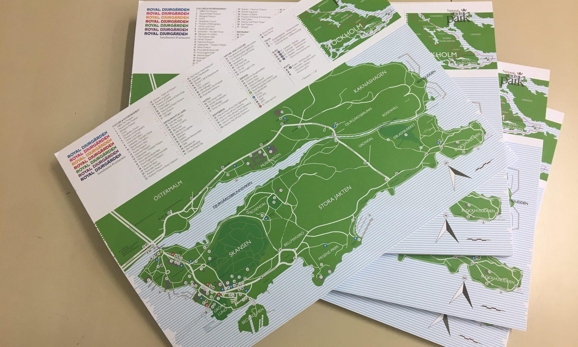 Nya Djurgårdskartan är här!