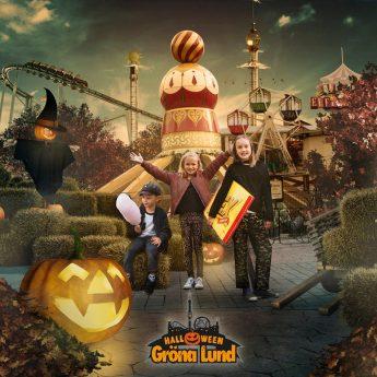 Barnvänliga Halloween på Gröna Lund