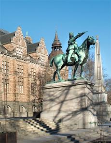 Karl X Gustavs ryttarstaty
