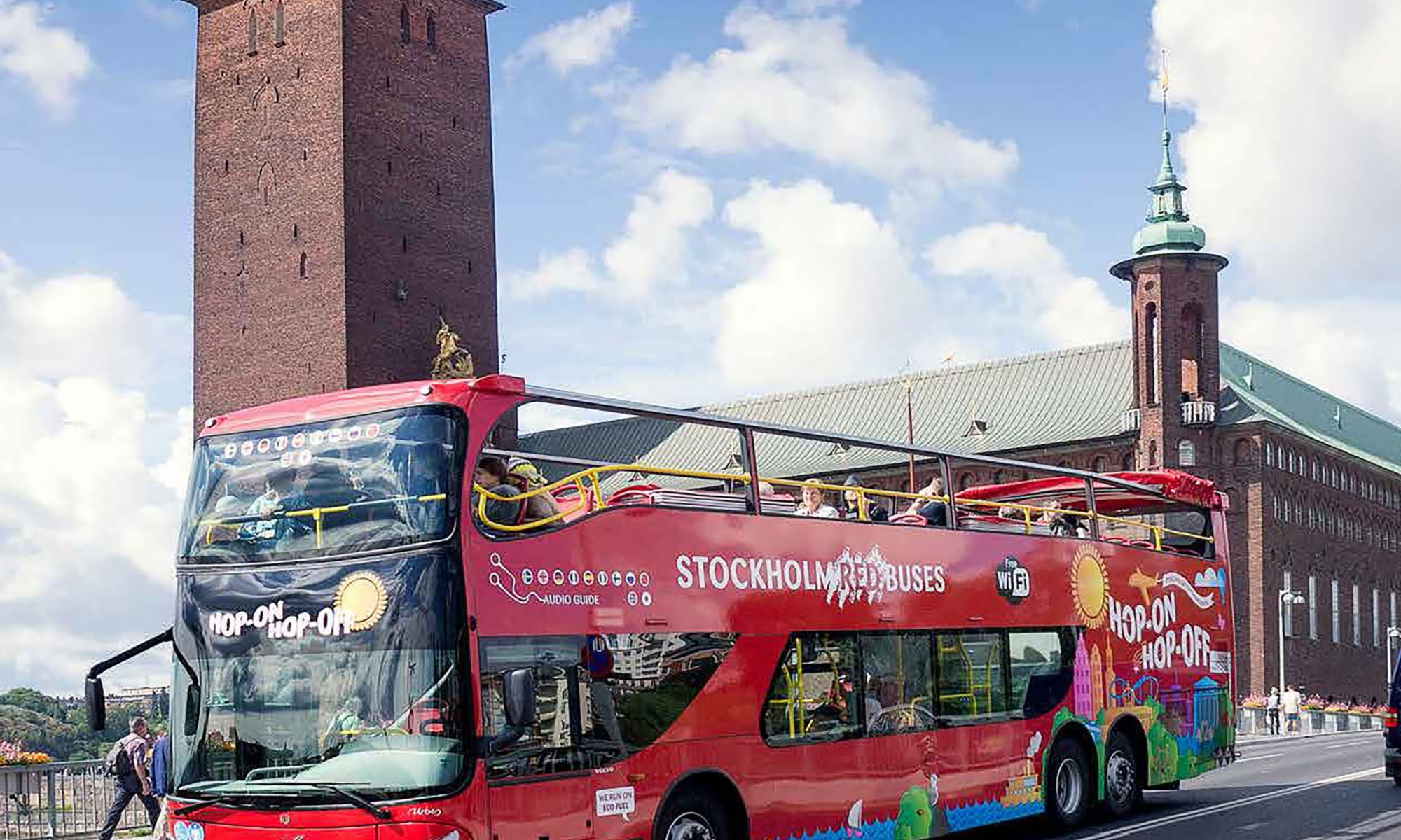 Red Sightseeing Buss