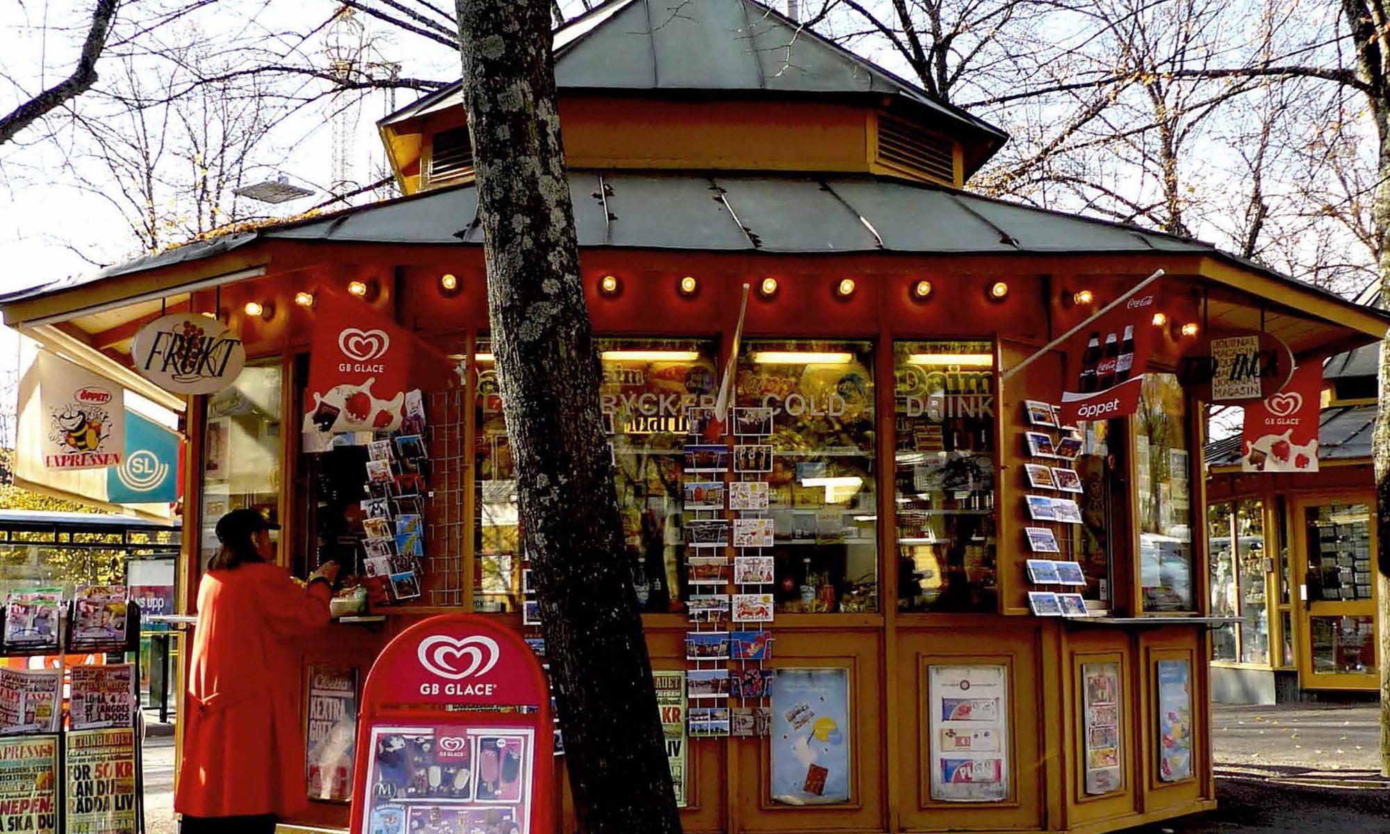 Kioskerna på Djurgårdsslätten