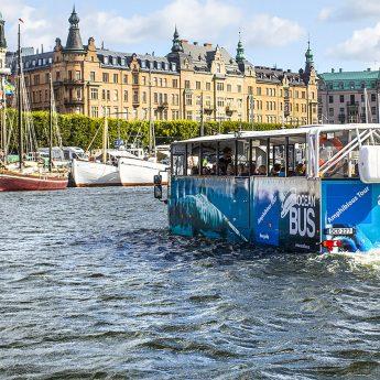 Dags för Ocean Bus att köra ut i vattnet