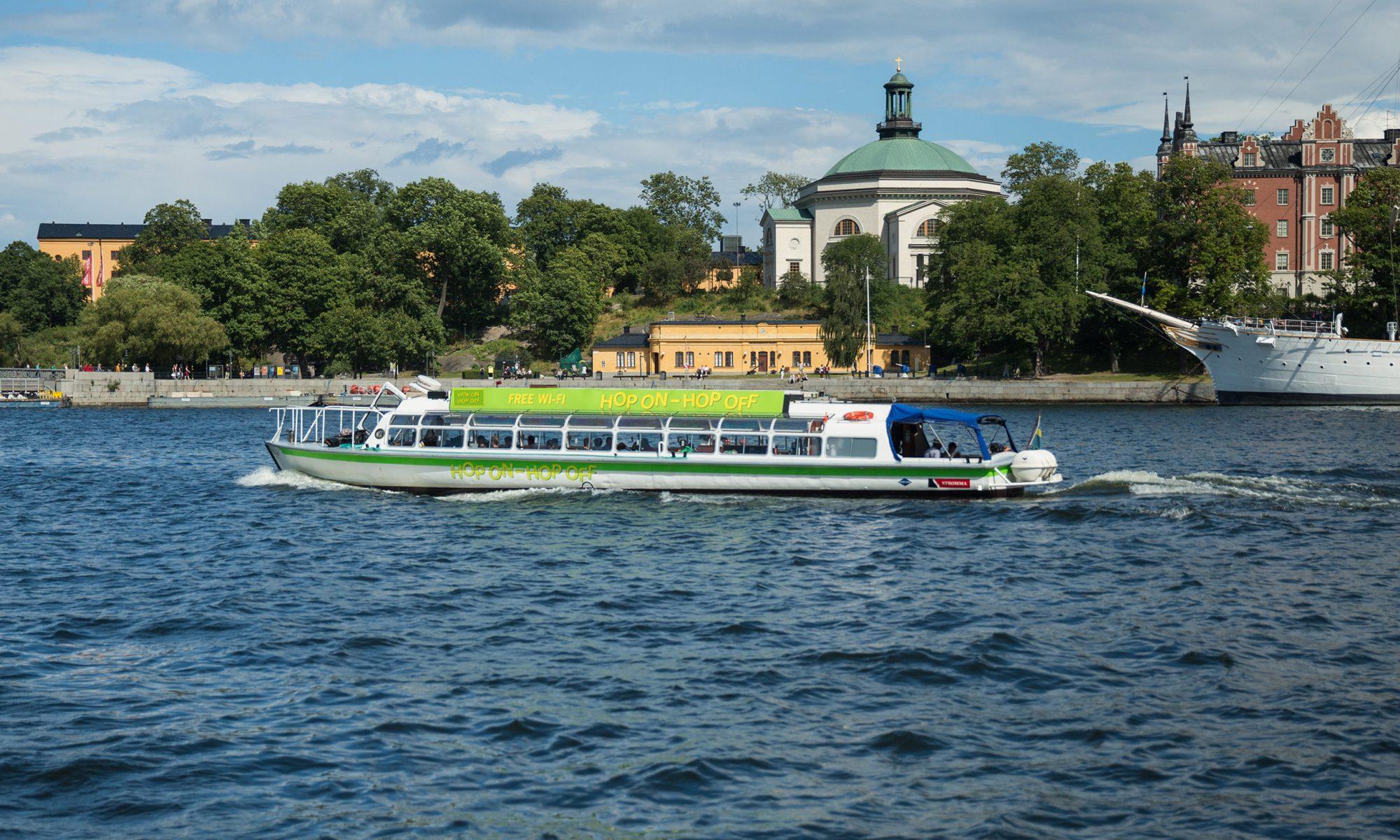 Strömma båt