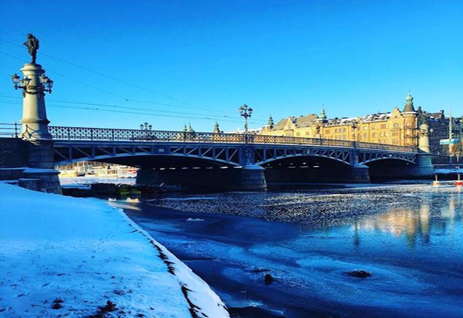 När är Djurgårdsbron avstängd för biltrafik 2018?