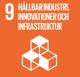 hållbar industri, innovationer och infrastruktur