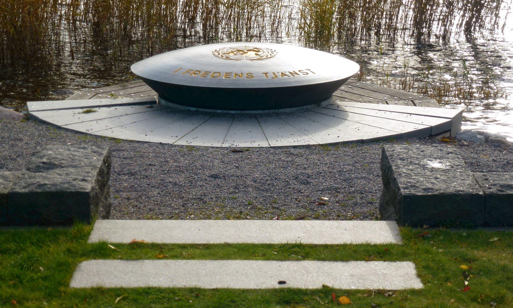 FN-monumentet på Djurgården