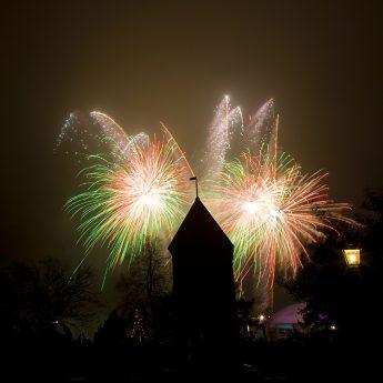 Fira nyår på Skansen