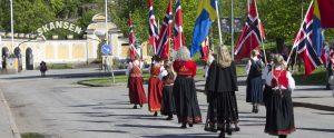 Norges nationaldagsfirande på Skansen.