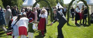 Drop in-bröllop på Skansen