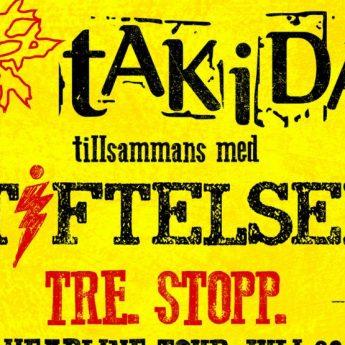 Takida och Stiftelsen i exklusiv spelning