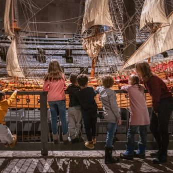 Family activities at the Vasa Museum