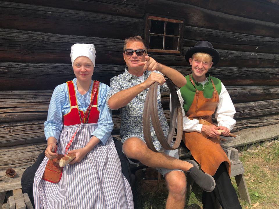 Skansen välkomnar Thomas Gylling