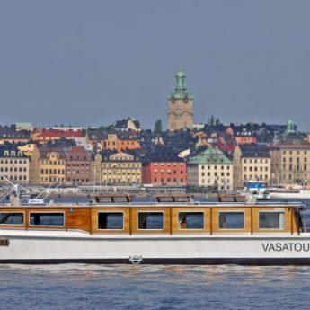 Ny sightseeingtur med båt om Vasas historia
