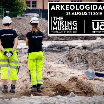 Arkeologidagen på Djurgården