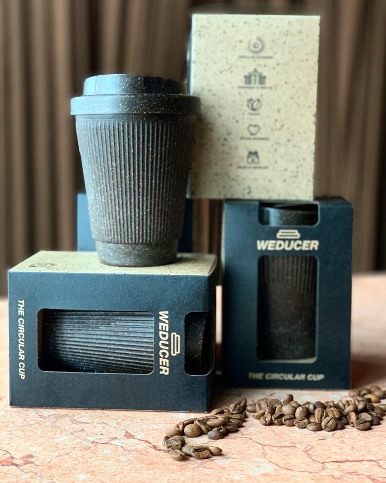 Egen mugg ger rabatt på kaffet