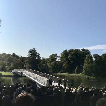 Folke Bernadottes bro på Djurgården invigd