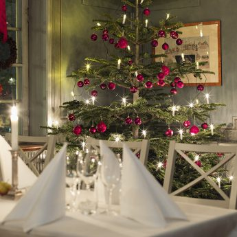Christmas dinner at the traditional Hotel Hasselbacken