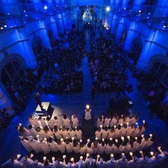 Slutsålt! Luciakonsert på Nordiska museet med Adolf Fredriks musikklasser