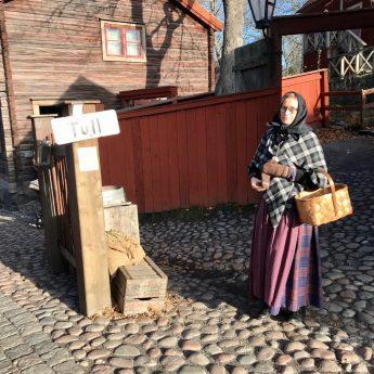 En höstlovsdag på Skansen – Fasor från förr