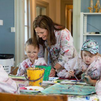 Familjesöndagar: Måla porträtt