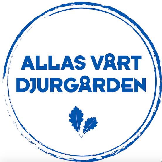Allas vårt Djurgården – marinblå