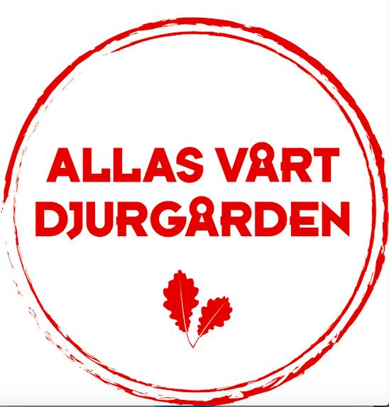 Allas vårt Djurgården – röd