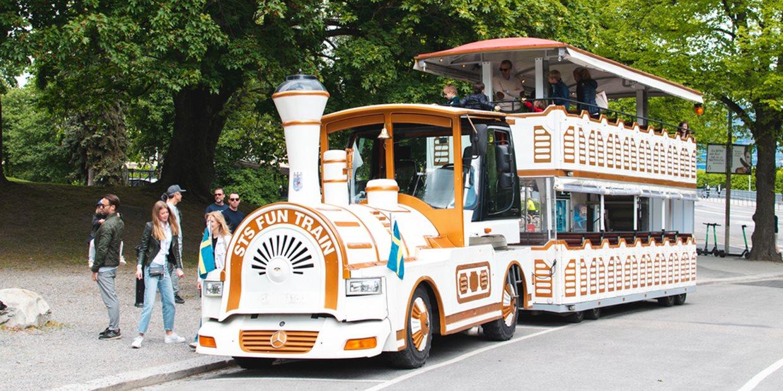 Royal Djurgården sightseeing med buss