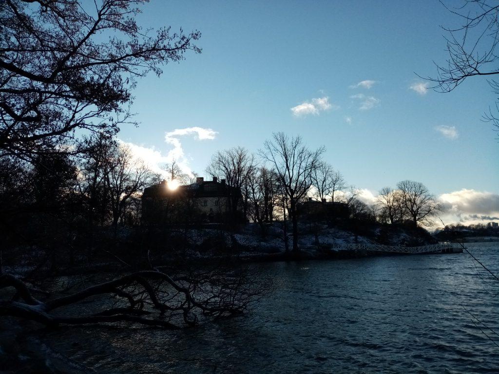 Solig vinterdag på Waldemarsudde
