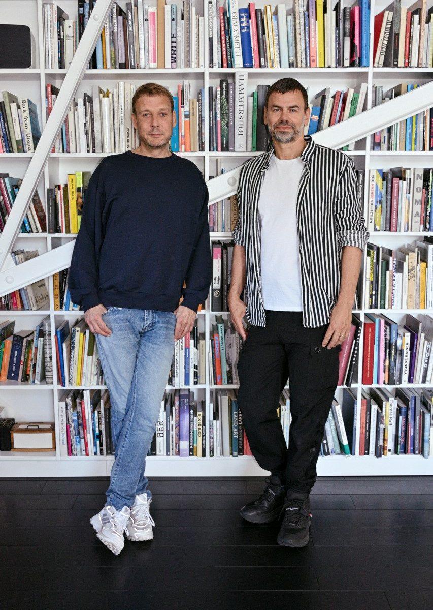 två killar, böcker