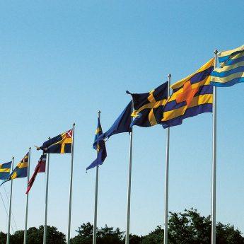 Starta nationaldagen med digital flaggotta!