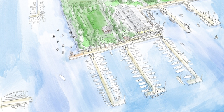 KSSS öppnar ny gästhamn på Djurgården